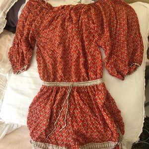 cute patterned romper